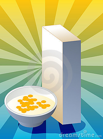 Caixa de cereal