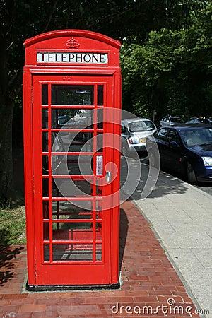 Caixa de telefone britânica