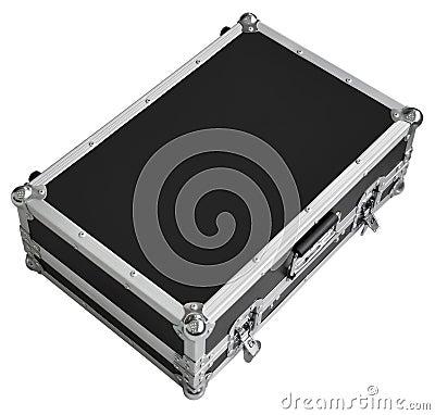 Caixa profissional do metal