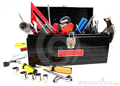 Caja de herramientas llena