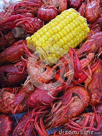 Cajun Boiled Crawfish