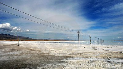 The Caka Salt Lake