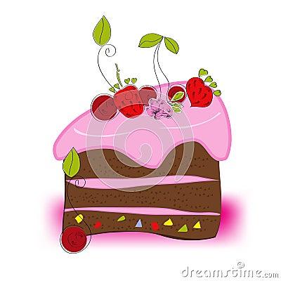 Free Cake Royalty Free Stock Photo - 13000855