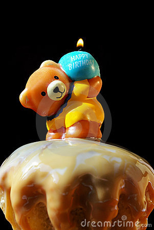 Free Cake And Birthday Candle Royalty Free Stock Photography - 4731397