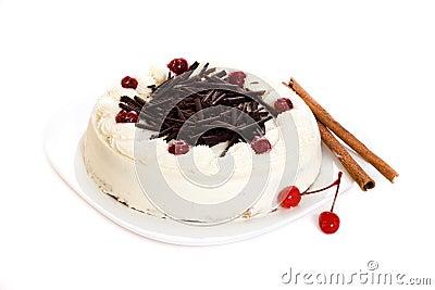 Cake of coffee