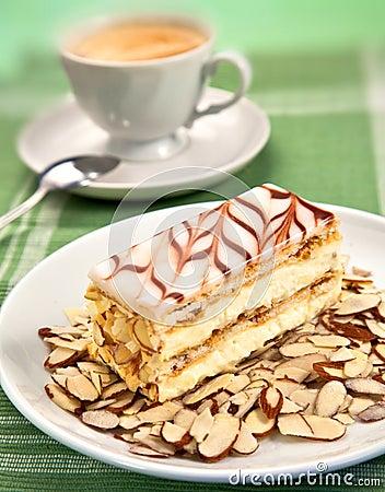 Cake and coffee