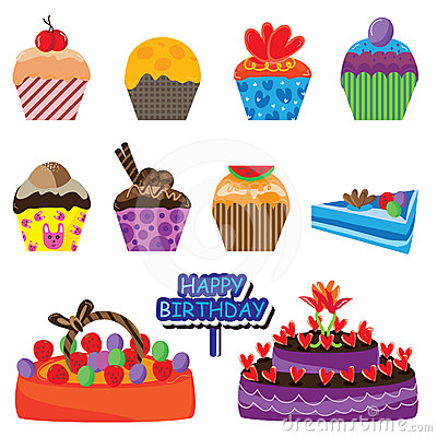 Cake Colorful Set_eps