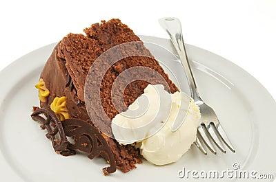 Cake and cream