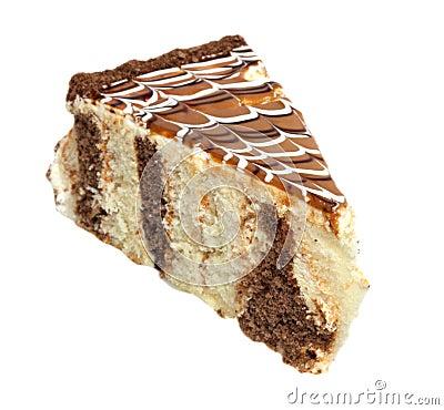 Cake with cream web