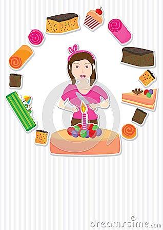 Cake Girl Card_eps