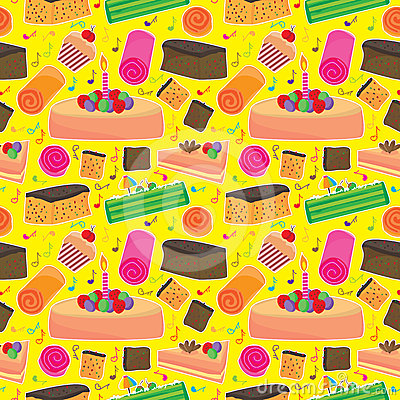 Cake Happy Seamless Pattern_eps