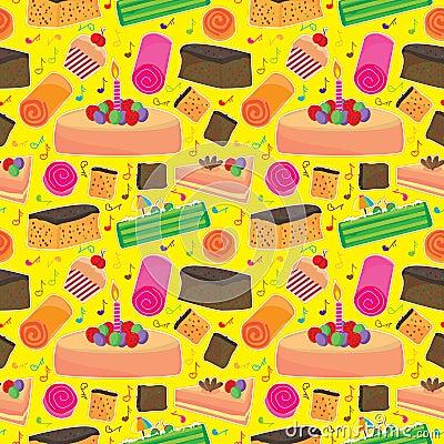 Cake Happy Seamless Pattern_eps