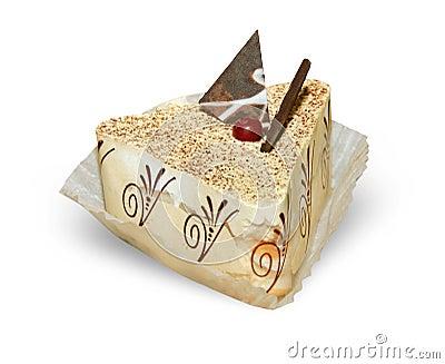 cake isolate on white