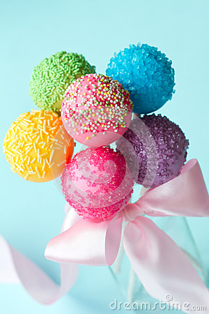 Free Cake Pops Royalty Free Stock Photos - 29328308
