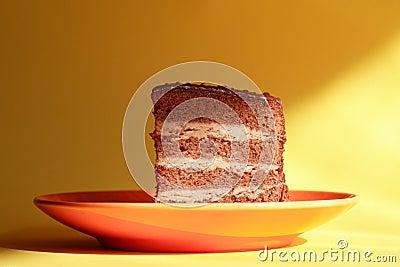 Cake On Saucer