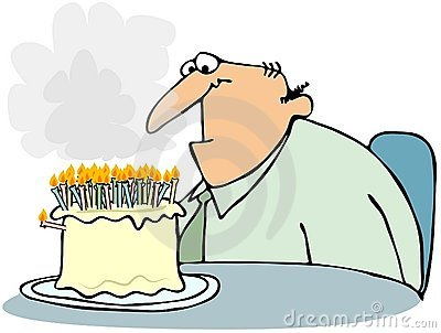 Cake With Too Many Candles