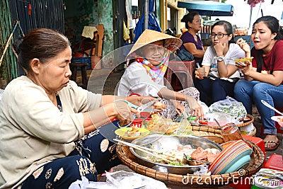 It cake - Vietnam cuisine Editorial Stock Image
