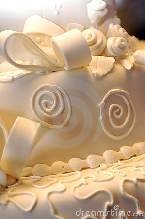 Free Cake - Wedding Close-up Royalty Free Stock Image - 50946