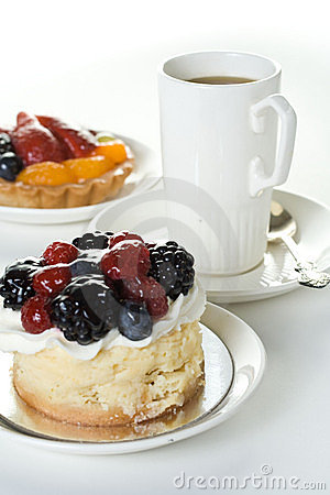 Free Cakes And Cup Of Coffee Stock Photo - 3197700