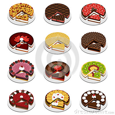 Free Cakes And Pies Stock Photography - 28938192