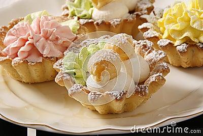 Cakes dish