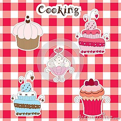 Cakes en muffins