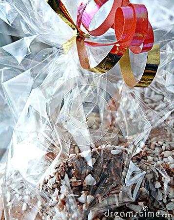 Cakes in foil bag