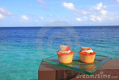Cakes by the lagoon