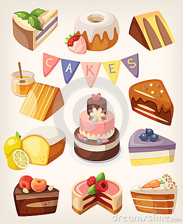 Free Cakes Nd Pies Stock Photo - 61391010