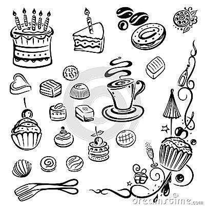 Free Cakes, Pie, Praline Royalty Free Stock Photo - 33529425