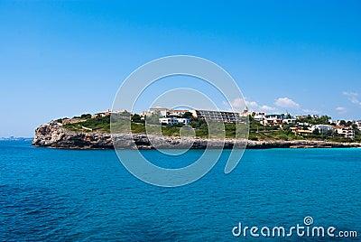 Cala Anguila cape, hotels and villas, Majorca