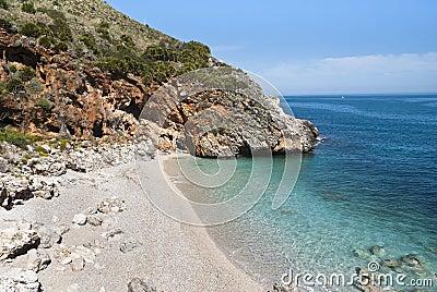 Cala capreria, Sicily, Italy