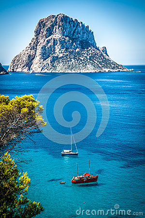 Free Cala D Hort, Ibiza (Spain) Stock Photos - 41219873