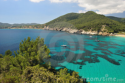 Cala de Sant Vicent, Ibiza Spain