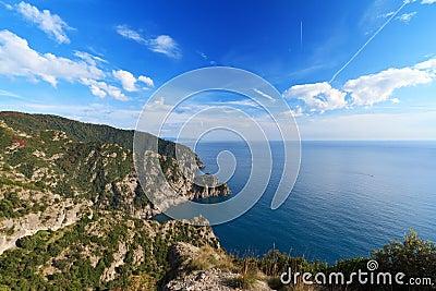 Cala dell Oro, Liguria, Italy