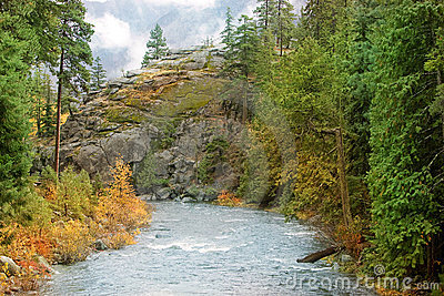 Cala Leavenworth Washington del carámbano