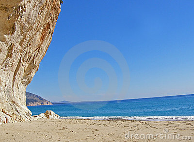 Cala Luna beach and Orosei Gulf - Sardinia, Italy