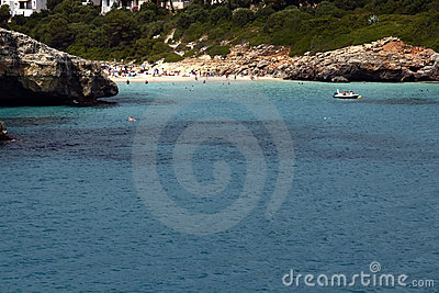 Cala Mandia Beach In Mallorca