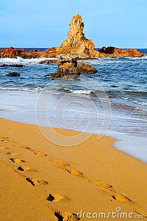 Free Cala Pregonda Beach In Menorca Royalty Free Stock Image - 23420806