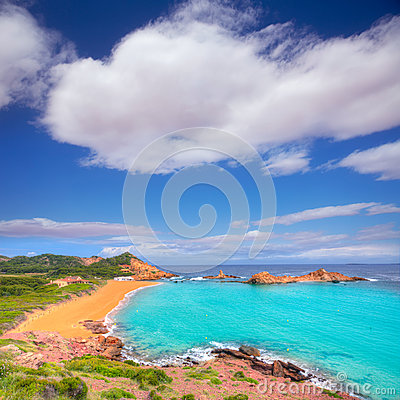 Free Cala Pregonda In Menorca At Balearic Islands Royalty Free Stock Photo - 35149305