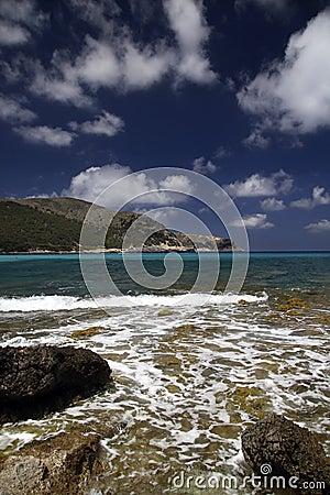Cala Ratjada Beach In Mallorca