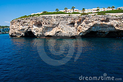 Cala Romantica grotto and hotels, Majorca
