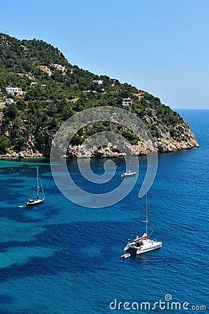 Cala Vadella Ibiza Spain
