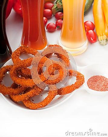 Calamari pierścionki