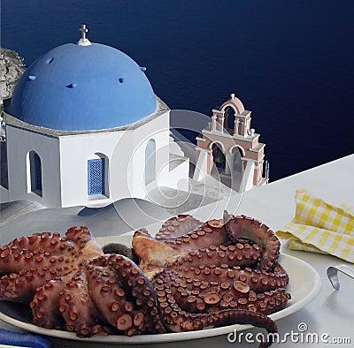 Calamari - Santorini - Greece
