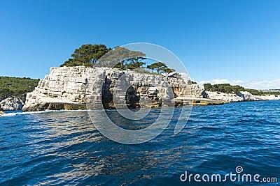 Calanque unique coastline Provence