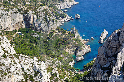 Calanques de luminy, marseille