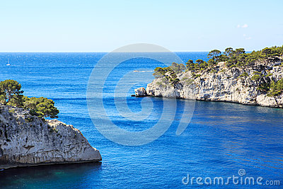 Calanques of Port Pin in Cassis, Provence, France