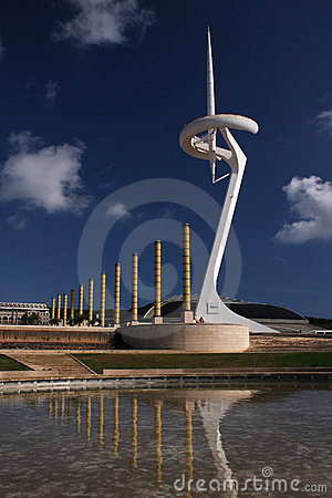 Calatrava tower Editorial Photo