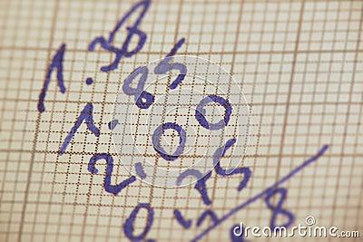 Calcoli della mano